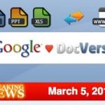 Google compra a DocVerse